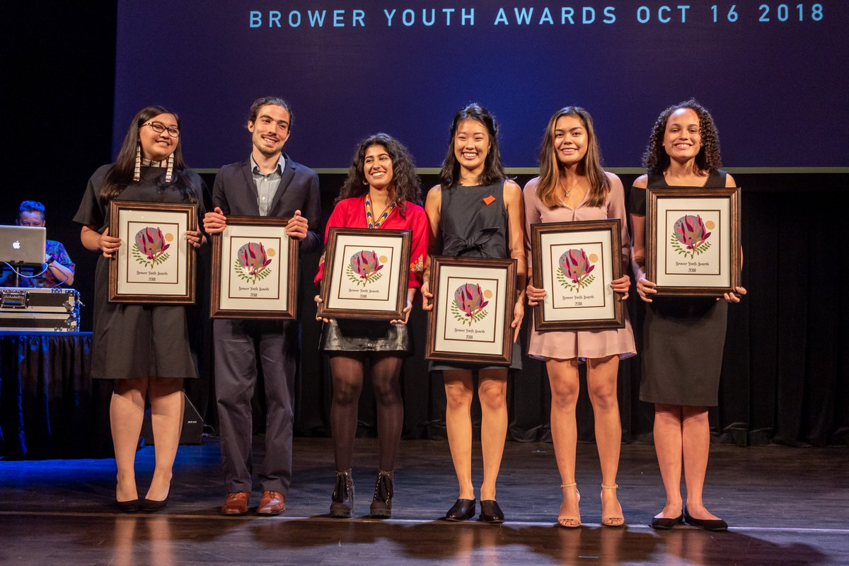 Brower Youth Award for Environmental Leadership 2019 | Opportunity Desk