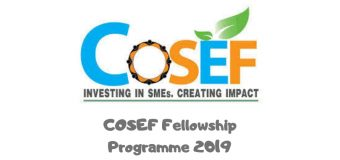 COSEF Fellowship Programme 2019 for East Africans