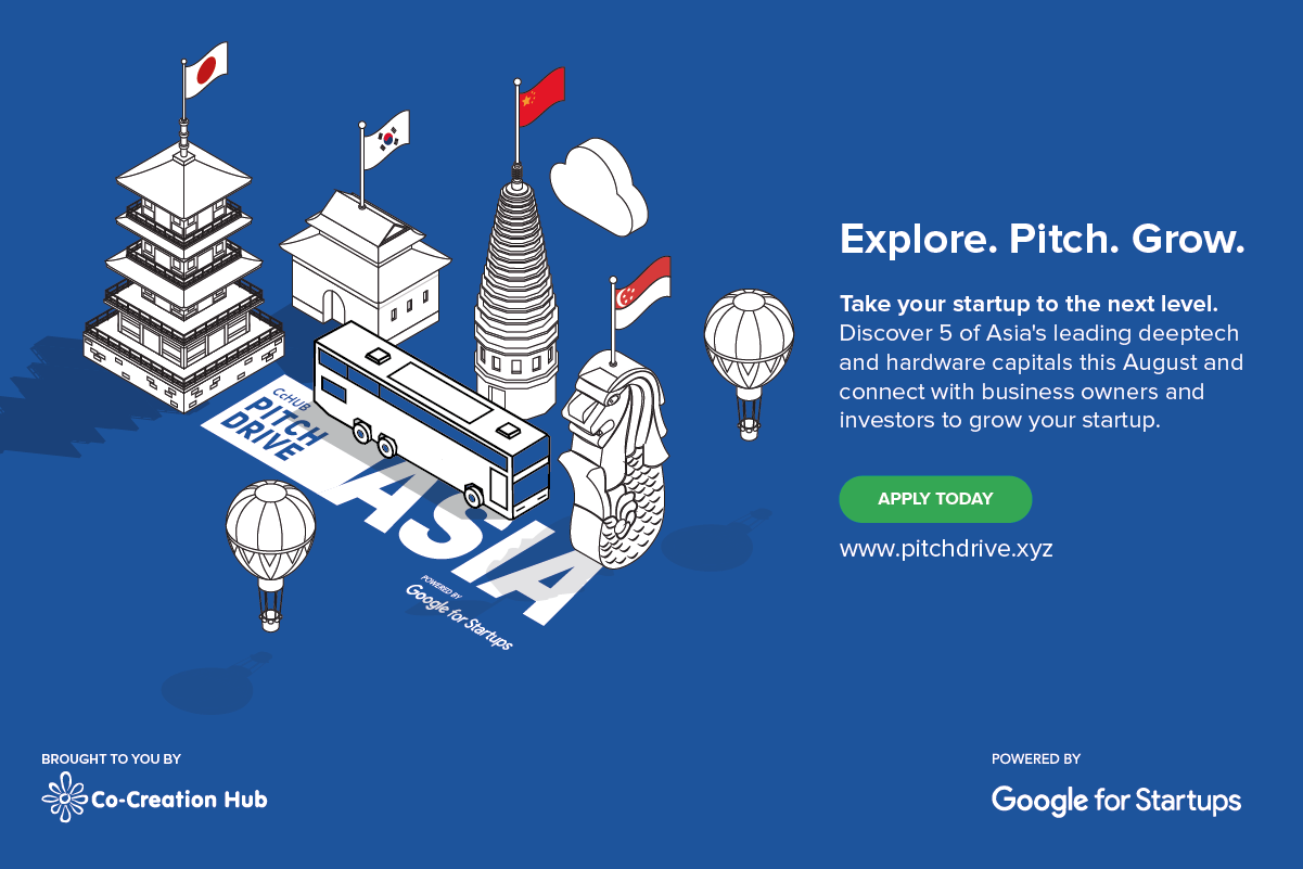 CcHUB/Google for Startups PitchDrive Tour for African Deep Tech Startups 2019
