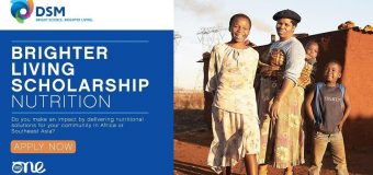 DSM: Brighter Living Scholarship to attend the One Young Summit 2019 in London (Fully-funded)