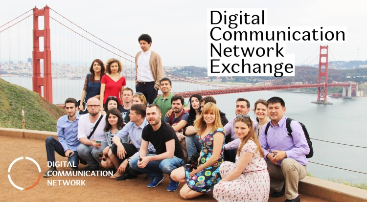 Digital Communication Network Exchange Program 2019 (Fully-funded to the United States)