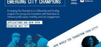 Emerging City Champions Fellowship and Funding Program 2019 for Young Civic Innovators (Fully-funded to Toronto + $5,000)