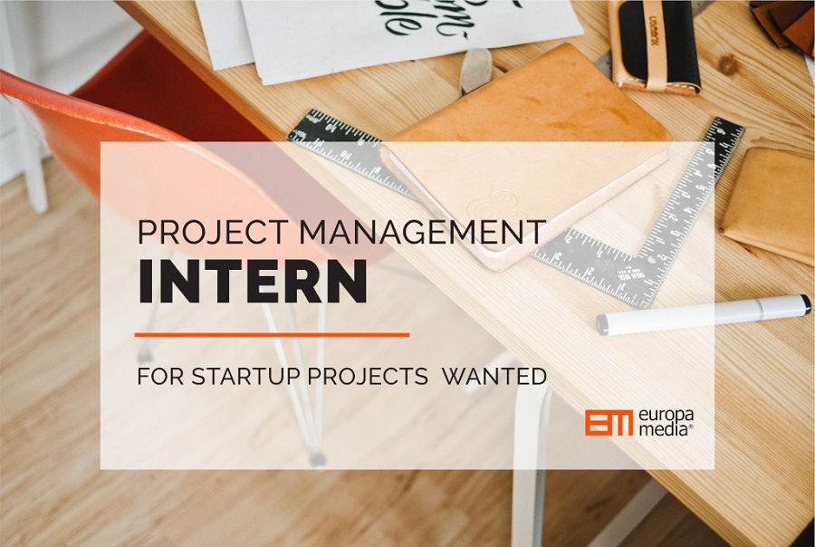 Europa Media Project Management Internship 2019 for Startup Projects