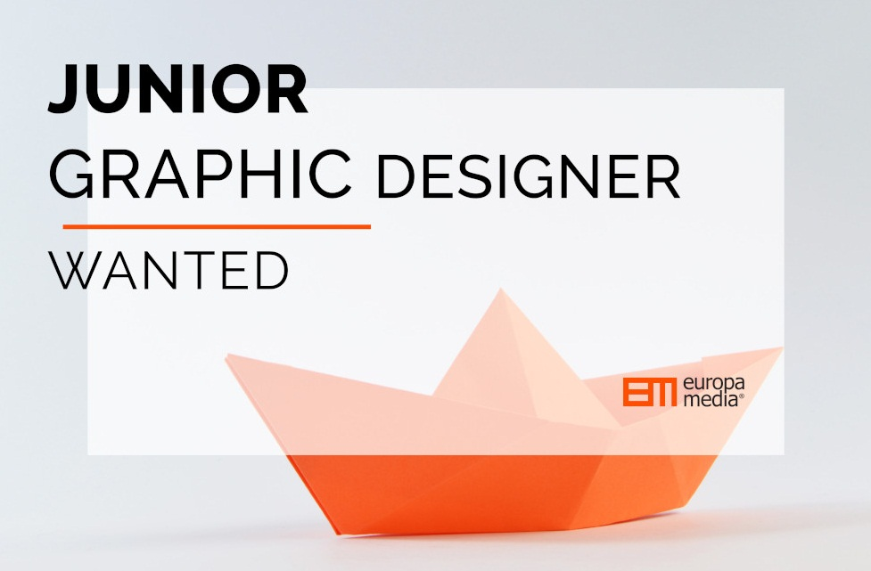 Apply for a Junior Graphic Designer Job at Europa Media