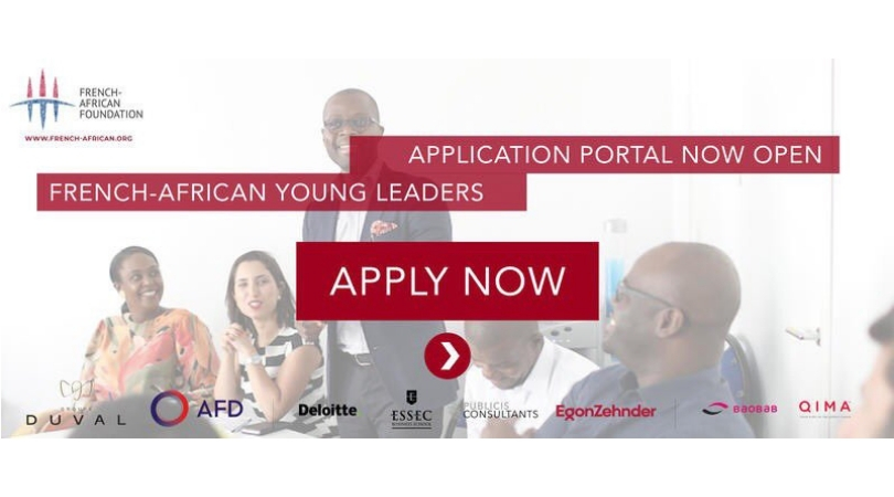 French-African Foundation Young Leaders Programme 2019 (Fully-funded to Accra & Paris)