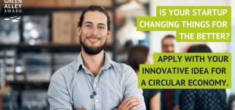 Green Alley Award 2019 – Europe's Startup Prize for the Circular Economy