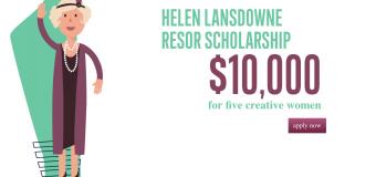 Helen Lansdowne Resor Scholarship 2019 for Creative Women (Up to $10,000 + Internship at Wunderman Thompson)