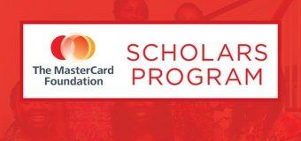 Mastercard Foundation Scholars Program 2020-2021 at McGill University