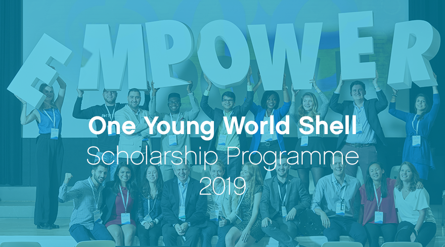 One Young World Shell Scholarship Programme 2019 (Fully-funded the OYW Summit in London, UK)