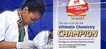 PZ Cussons Chemistry Challenge 2019 for Secondary School Students in Nigeria (₦1,000,000 prize)