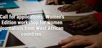 Population Reference Bureau Women's Edition Workshop 2019 for Journalists from West Africa (Fully-funded)