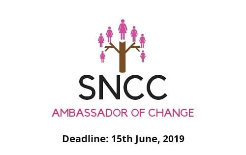 SNCC Ambassador of Change Program 2019 (Fully-funded to Amsterdam for the Youth Entrepreneurship Workshop)