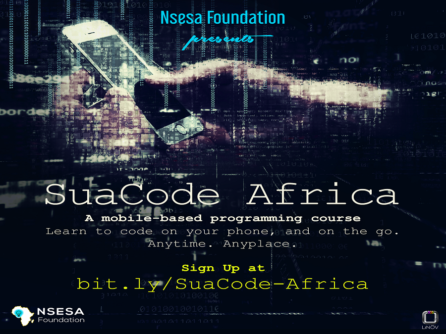 SuaCode Africa Programming Course 2019 for Young Africans (Scholarship available)