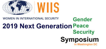 WIIS Next Generation Gender, Peace and Security (GPS) Symposium 2019 (Fully-funded to Washington, DC)