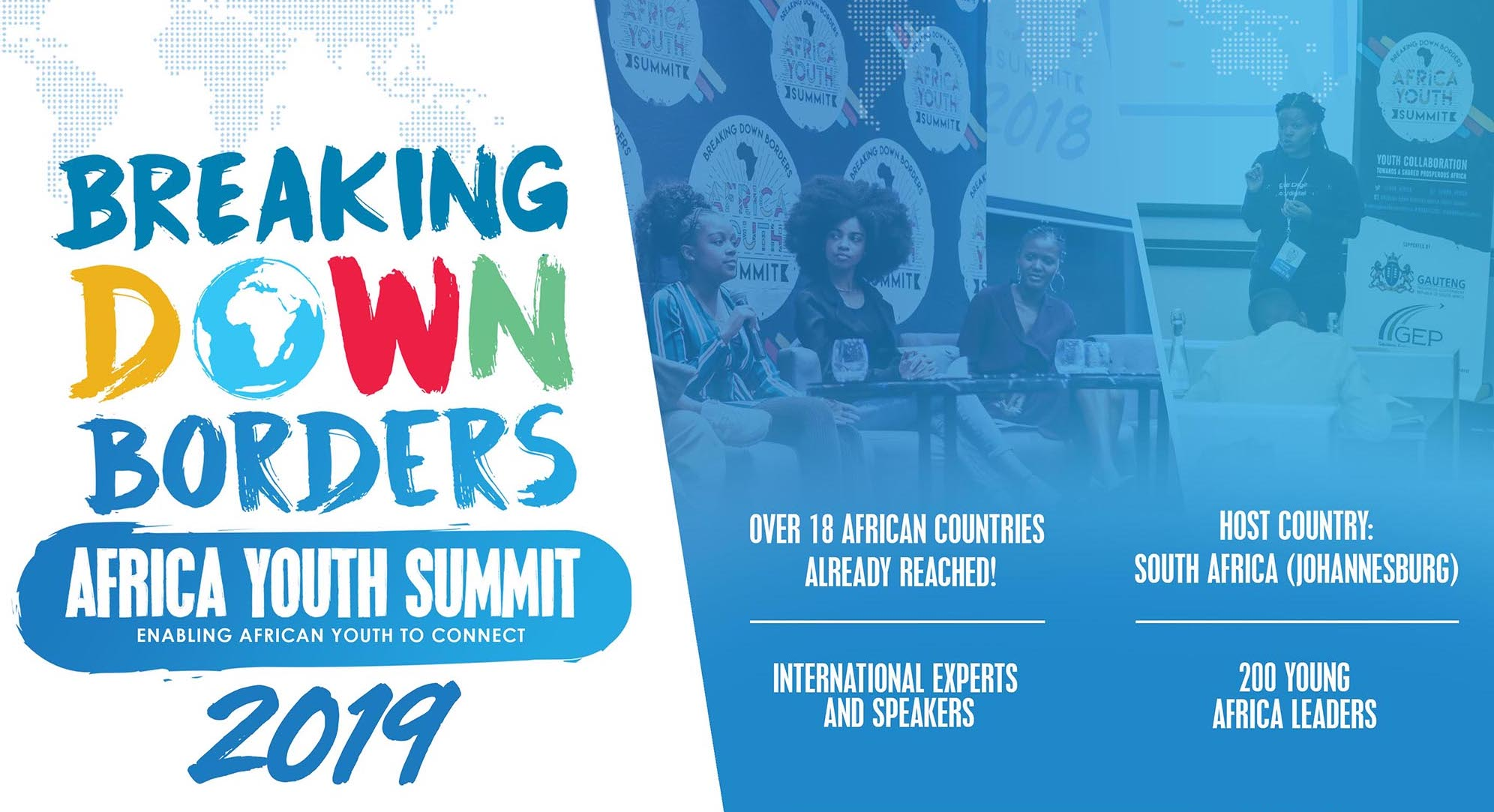 Breaking Down Borders Africa Youth Summit 2019 (Fully funded to South Africa)