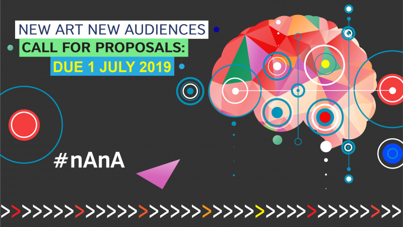 British Council New Art New Audiences 2019 (up to £30,000)