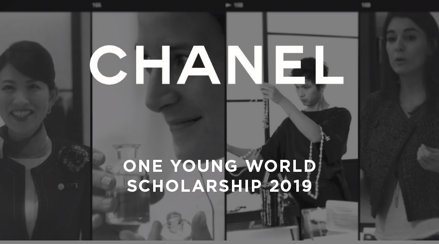 CHANEL One Young World Scholarships to attend OYW Summit 2019 in London (Fully-funded)