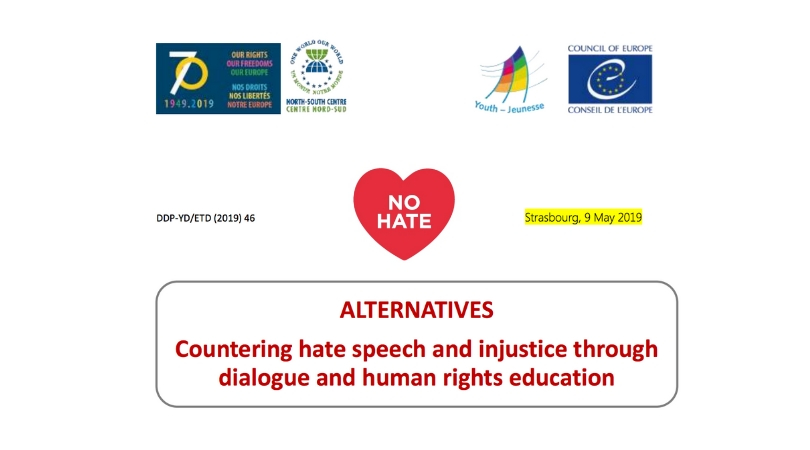 "Council of Europe Youth Department Training Workshop ""ALTERNATIVES"" 2019 in Hammamet, Tunisia (Fully-funded)"