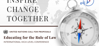 UNODC Education for Justice (E4J) International High-Level Conference 2019 (Fully-funded to Vienna)