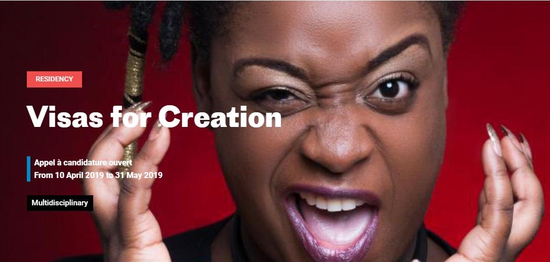 French Institut Visas for Creation Program 2019 for Artists from Africa and the Caribbeans