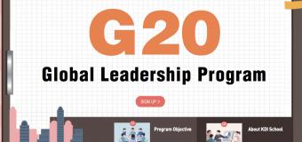 Apply for KDI School's G20 Global Leadership Program 2019 (Fully-funded to Korea)