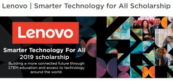 Lenovo Smarter Technology for All Scholarship to attend the One Young World 2019 Summit (Fully-funded to London, UK)