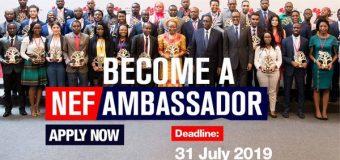 Next Einstein Forum (NEF) Ambassadors Programme 2019