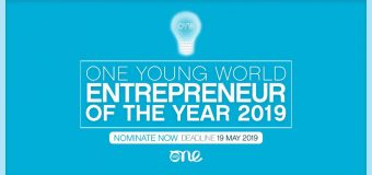 One Young World's Entrepreneur of the Year Award 2019 (Fully-funded to OYW Summit in London, UK)