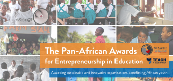 Saville Foundation Pan-African Awards for Entrepreneurship in Education 2019 (Up to $15,000)