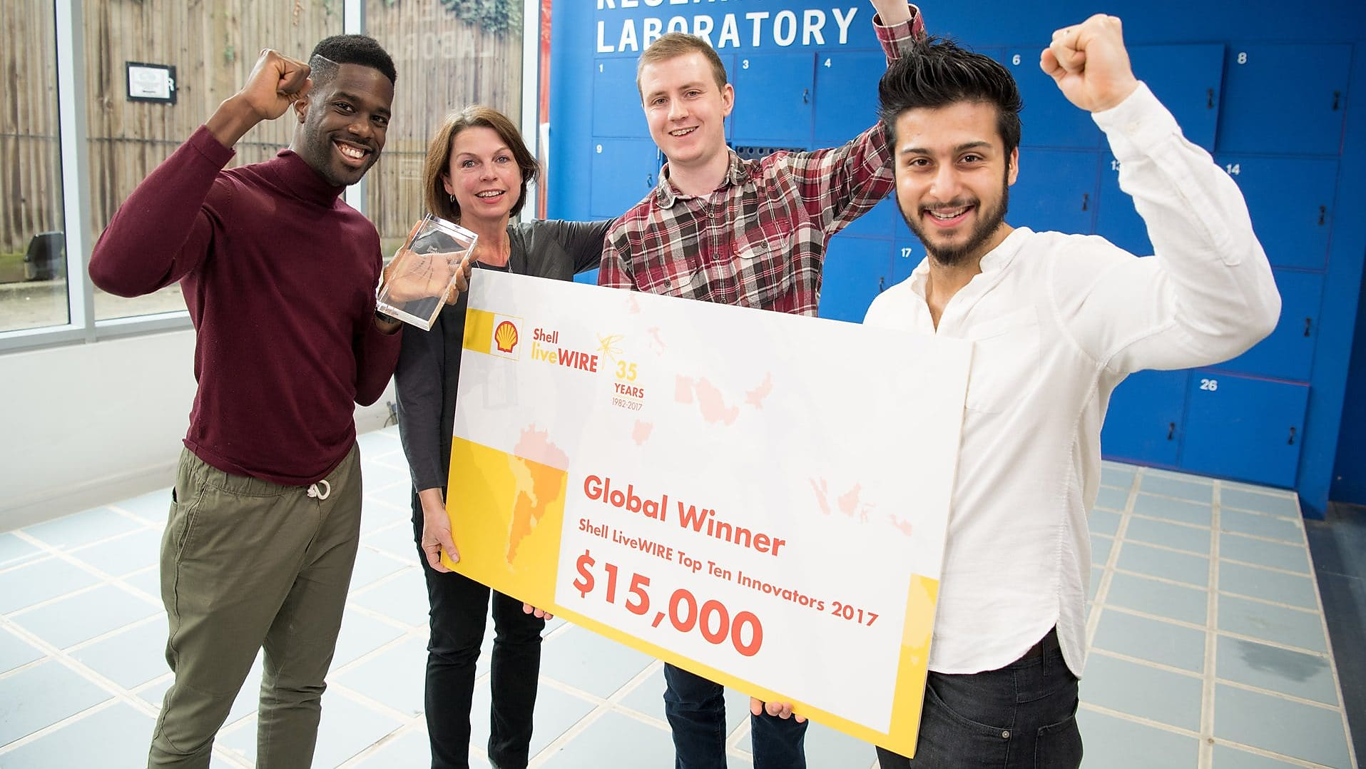 Shell LiveWIRE Top Ten Innovators Competition 2019 (Up to US $40,000 in prizes)