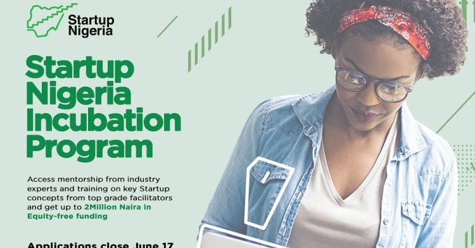 Startup Nigeria Incubation Program 2019