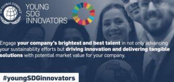 UN Global Compact Young SDG Innovators Programme 2019