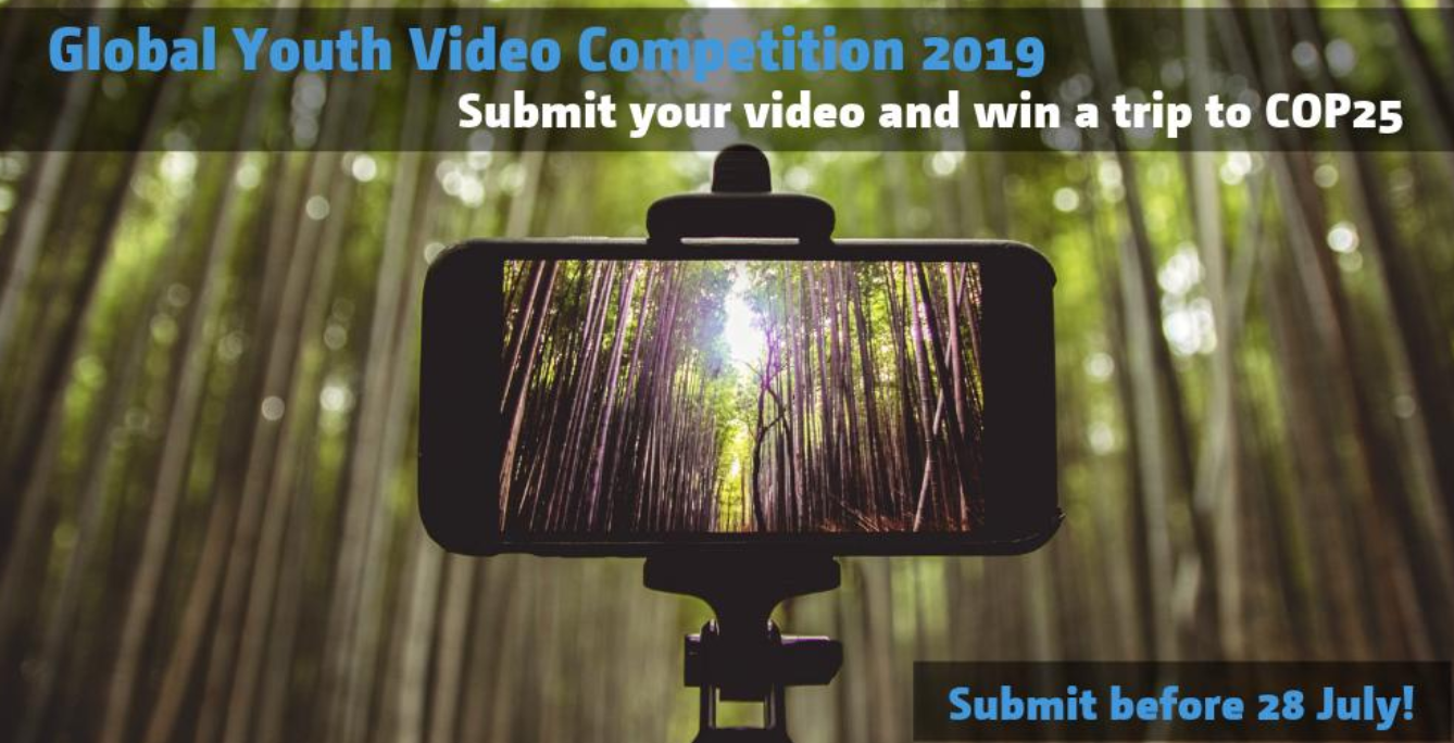UNFCCC Global Youth Video Competition 2019 (Win a funded trip to COP 25 in Chile)