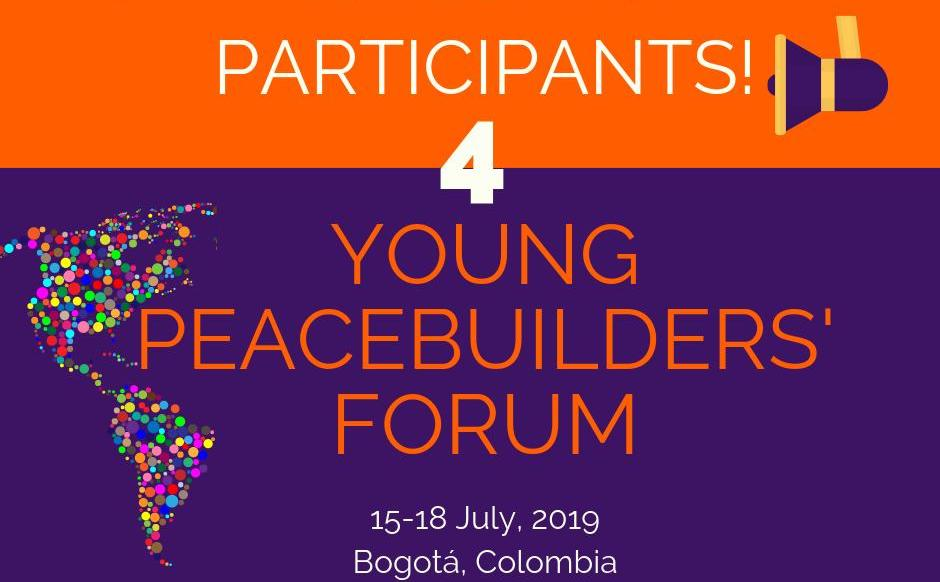 UNOY Young Peacebuilders' Forum 2019 – Bogotá, Colombia (Funded)