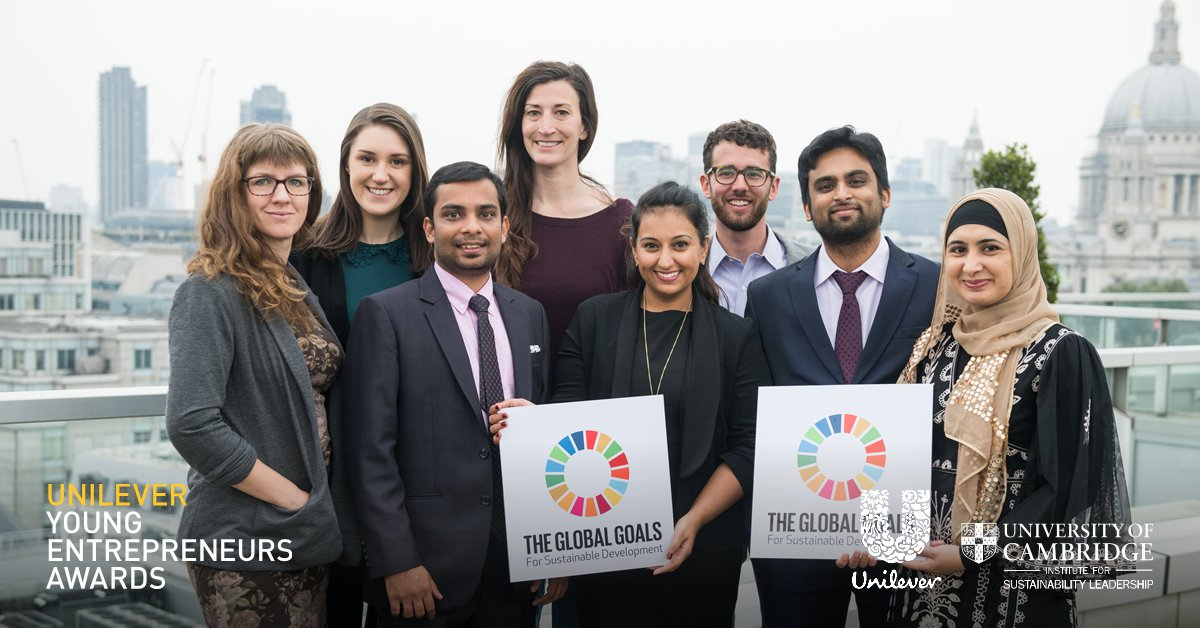 Unilever Young Entrepreneurs Awards 2019 (Win €50,000 cash award)
