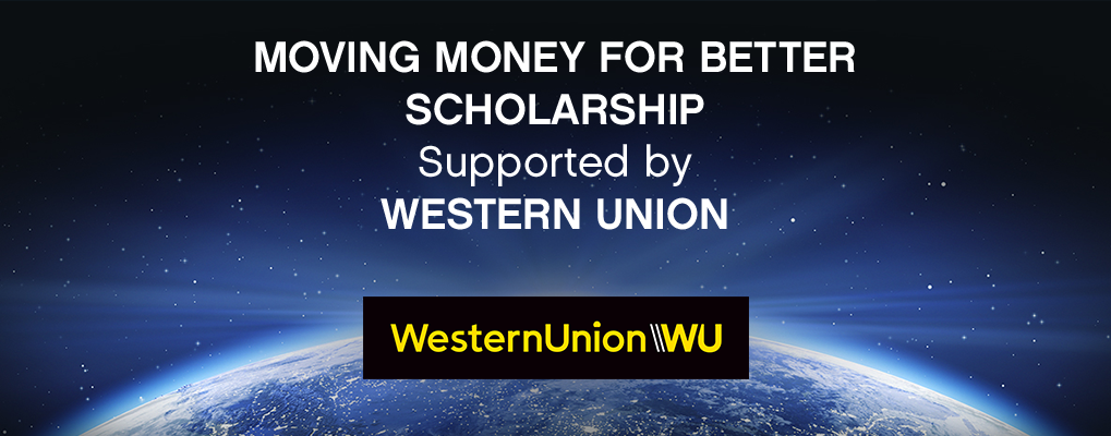Western Union Moving Money for Better Scholarship to attend the One Young World Summit 2019 (Fully-funded to London, UK)