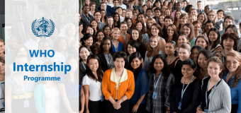 World Health Organisation (WHO) Internship Programme 2019