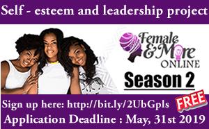 Female And More (FAM) Self-esteem and Leadership Programme 2019 Online Season 2
