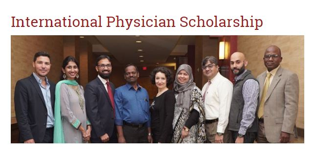 American Academy of Hospice and Palliative Medicine (AAHPM) International Physician Scholarship to attend the 2020 Annual Assembly (up to $5,000)
