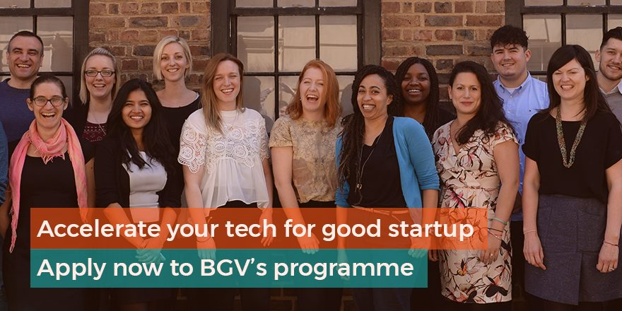 Bethnal Green Ventures Autumn 2019 Programme for Tech Startups (Up to £20,000)