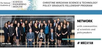Christine Mirzayan Science and Technology  Policy Graduate Fellowship Program 2020 (Stipend available)