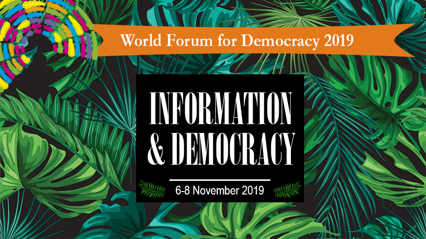 Council of Europe World Forum for Democracy 2019 – Youth Delegation (Funded)