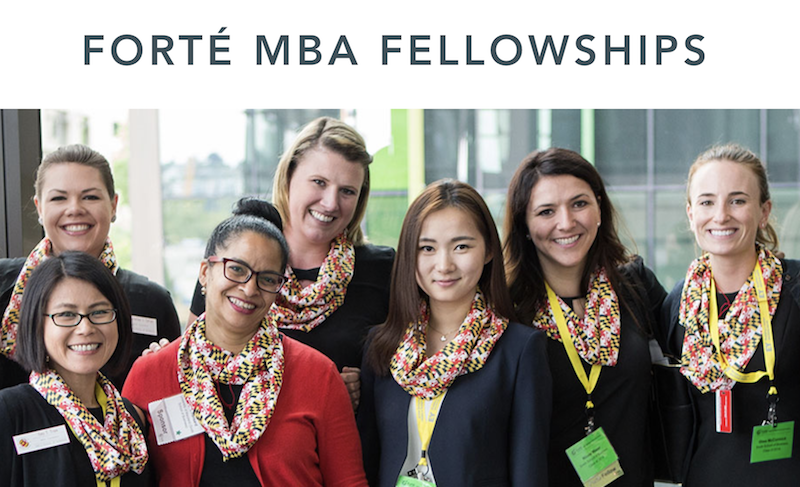 Forté Foundation MBA Fellowship Program 2019 for Women