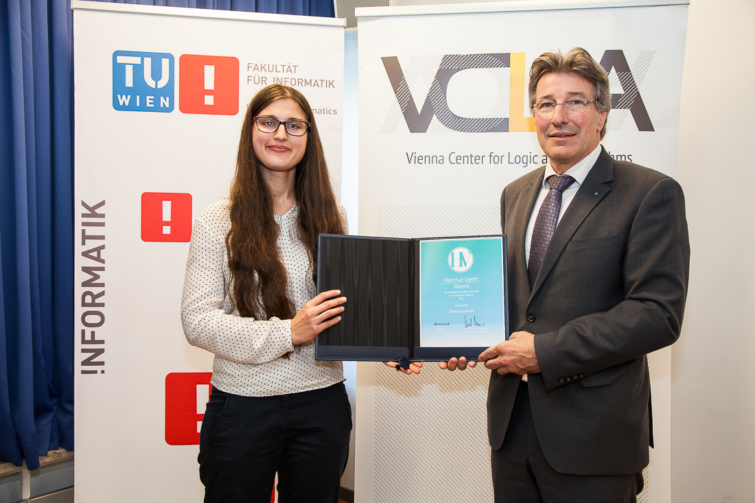 Helmut Veith Scholarship 2019 for Outstanding Female Students in Computer Science (Up to EUR 6,000)