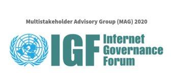 Internet Governance Forum Multistakeholder Advisory Group (MAG) 2020