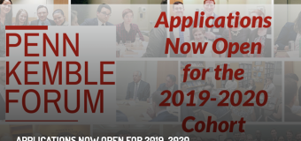 NED Penn Kemble Forum on Democracy 2019-2020 for Young Foreign Policy Leaders in Washington, D.C.
