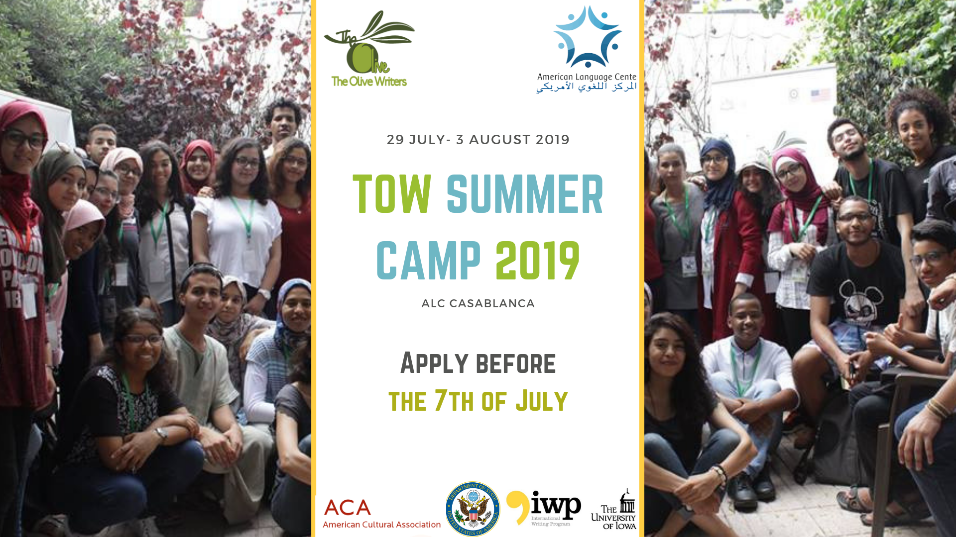 Olive Writers' Summer Camp 2019 for Young Moroccans (Fully-funded)