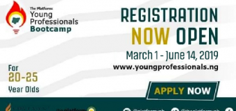 The Platform: Young Professionals Bootcamp 2019 for Nigerians