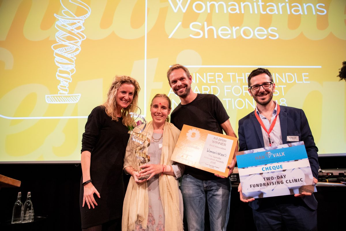 The Spindle Award for Best Innovation 2019 (Win a trip to the Netherlands and €15,000 grant)