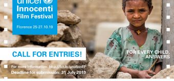 Call for Entries: UNICEF Innocenti Film Festival 2019 for Filmmakers